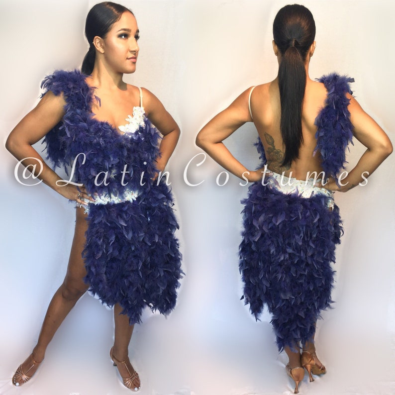 4c96f7fd4b97 Ballroom Latin Dancesport Dance Salsa Dress Costume Custom | Etsy