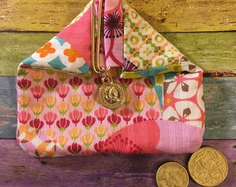 Handmade Japan Fabric Pouch, Coin Pad