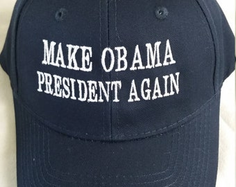 d2f55578c2e Make Obama president again baseball cap