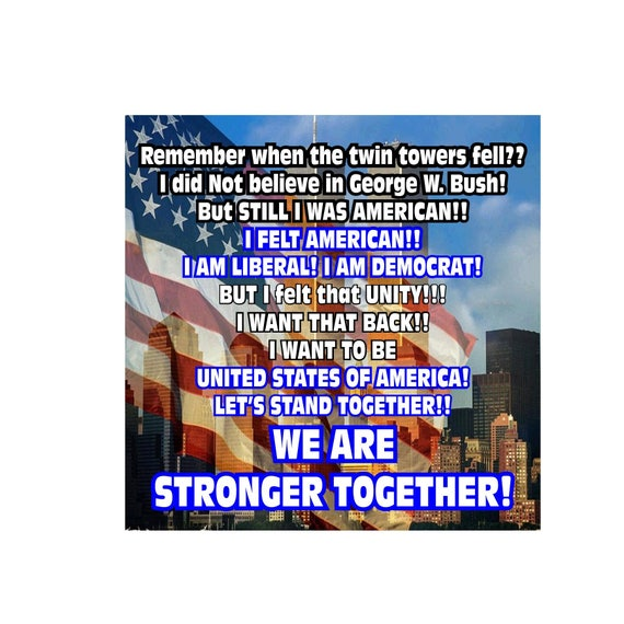 Twin Towers Never Forget Decal Window Bumper Sticker Car American USA NYC Proud