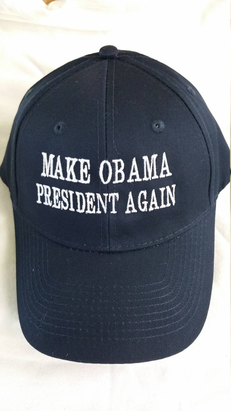 Make Obama president again baseball cap political saying  6b658e8776d