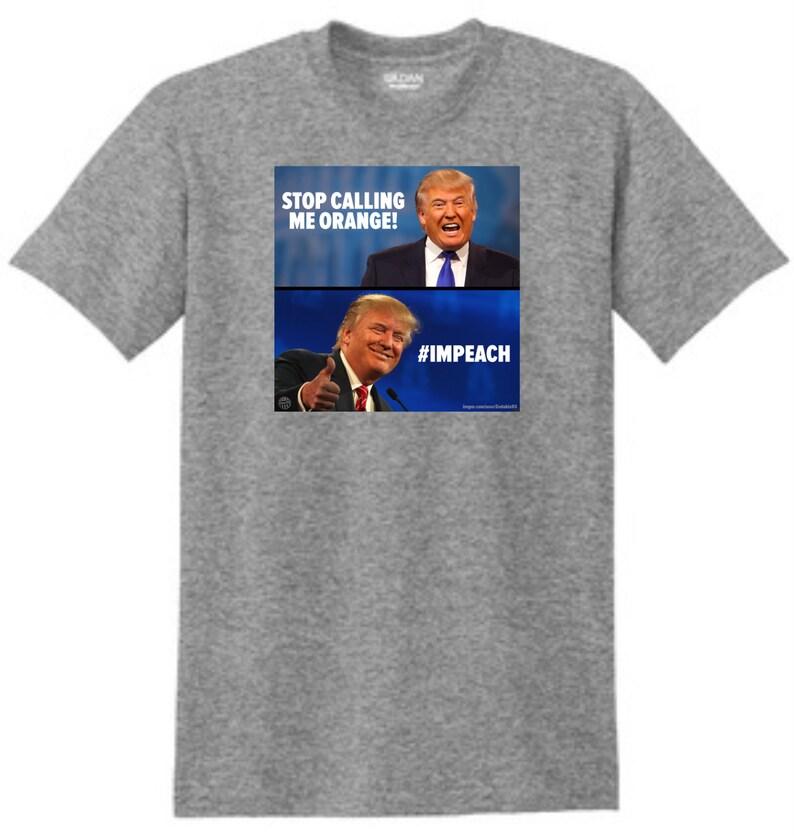 2ed752848667 Dump Trump t-shirt Trump shirt Impeach trump shirt | Etsy