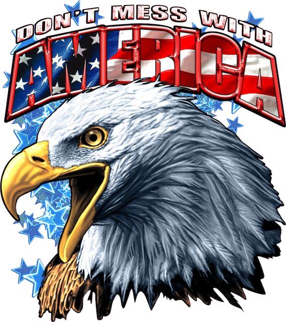 Uncle Sam Eagle Sticker America Patriotic USA Car Bumper Window Decal Cup Laptop