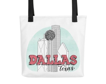 Dallas, Texas, Tote bag