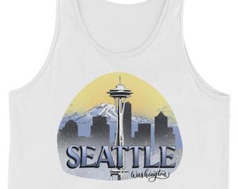 Unisex - Seattle, Washington Design - Tank Top