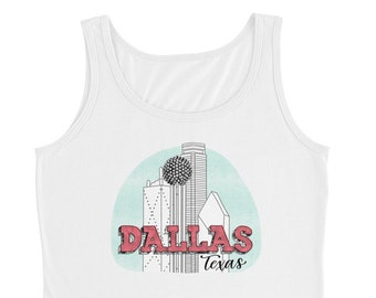 Ladies' Dallas Texas Tank