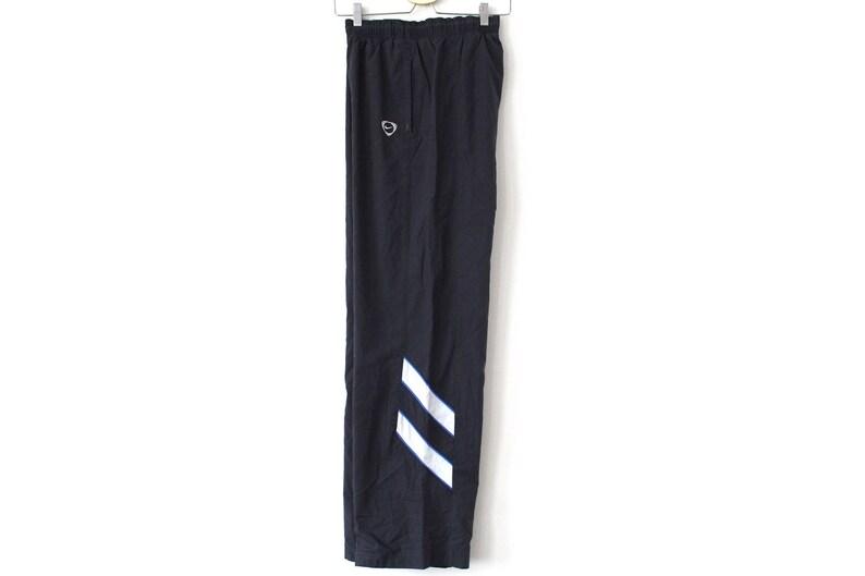 db6286bda2d96 90's Nike Pants Gray White Nike Windbreaker Rare Nike Running Jogging Gym  Sport Pants Nike Trousers Nike Swoosh Nike Track Bottoms Size L