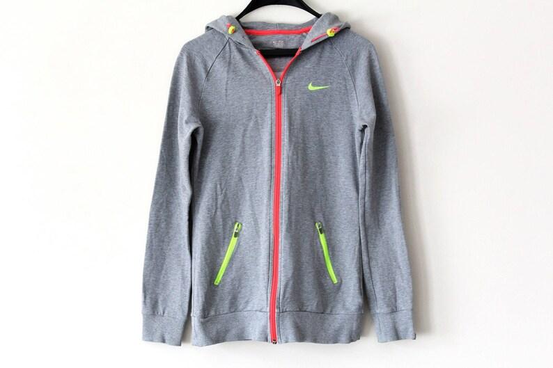 55e05592c202 Vintage Nike Sweatshirt Gray Nike Hoodie Nike Sportswear