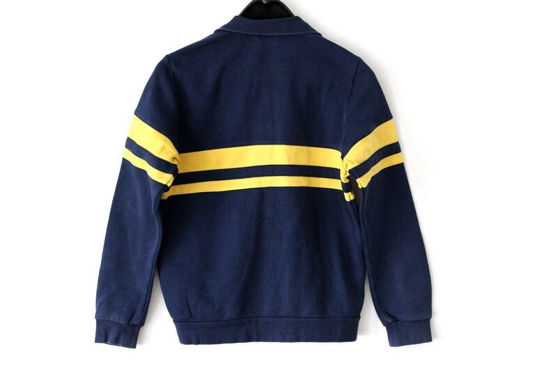 blue yellow adidas jacket