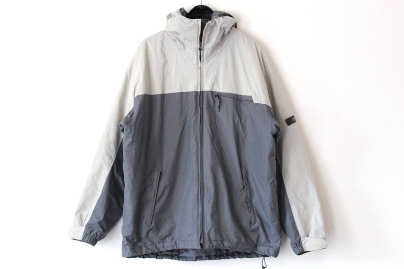 160f372431 Vintage 90 s Nike ACG Jacket Gray Nike Windbreaker Nike