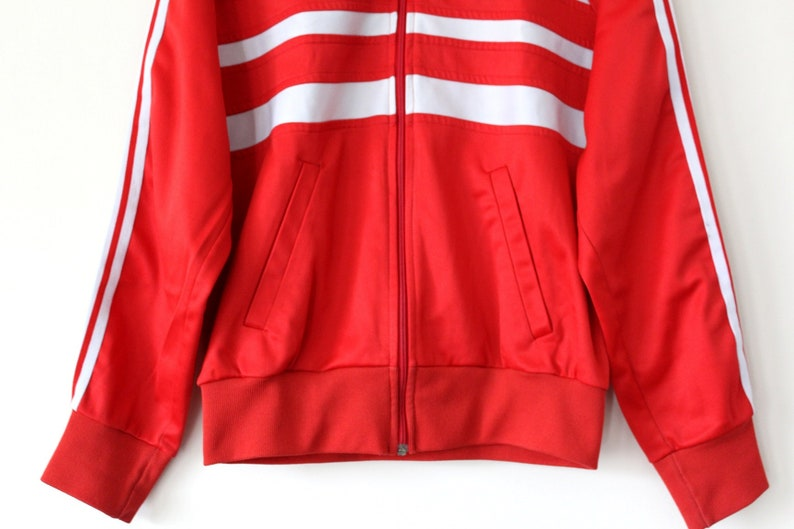 2467cd87ddae 80 s Adidas Jacket Vintage Adidas Tracksuit Very Rare Red