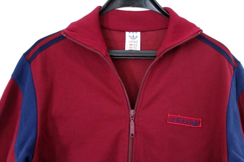 ca93152228d3 80 s Adidas Jacket Vintage Adidas Windbreaker Rare Adidas