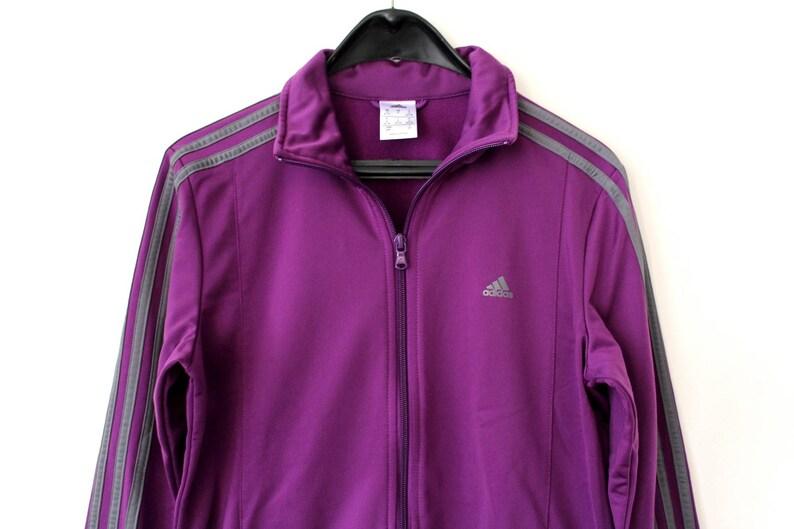 f4a2d9ff72d5b 90's Adidas Tracksuit Vintage Adidas Set Jacket And Pants Purple Gray  Adidas Track Pants Rare Adidas Sport Jacket Retro Adidas Windbreaker