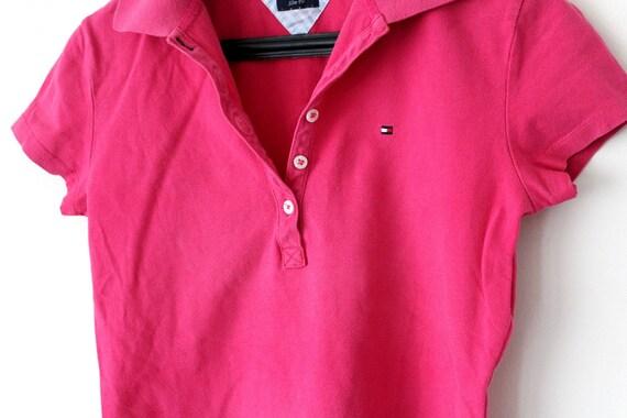 58063454d78 Vintage Tommy Hilfiger Polo Shirt 90 s Tommy Hilfiger