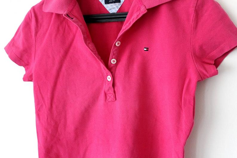 0172d7619c939 Vintage Tommy Hilfiger Polo Shirt 90 s Tommy Hilfiger