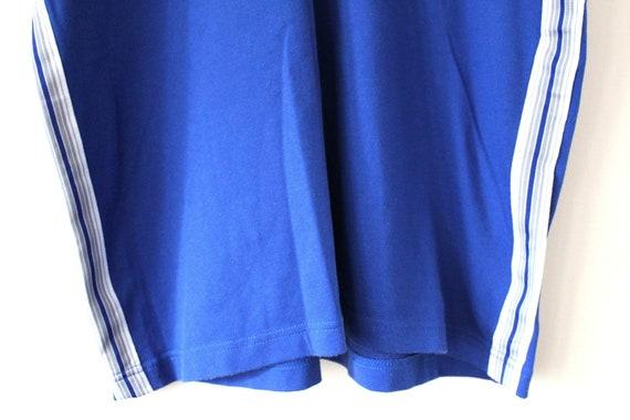 Jahrgang Brasilien Fußballtrikot 90er Nike Football Shirt blau weiß Fußball t shirt Nike Fußball Tshirt Hip Hop Streetwear Nike T shirt Größe XL