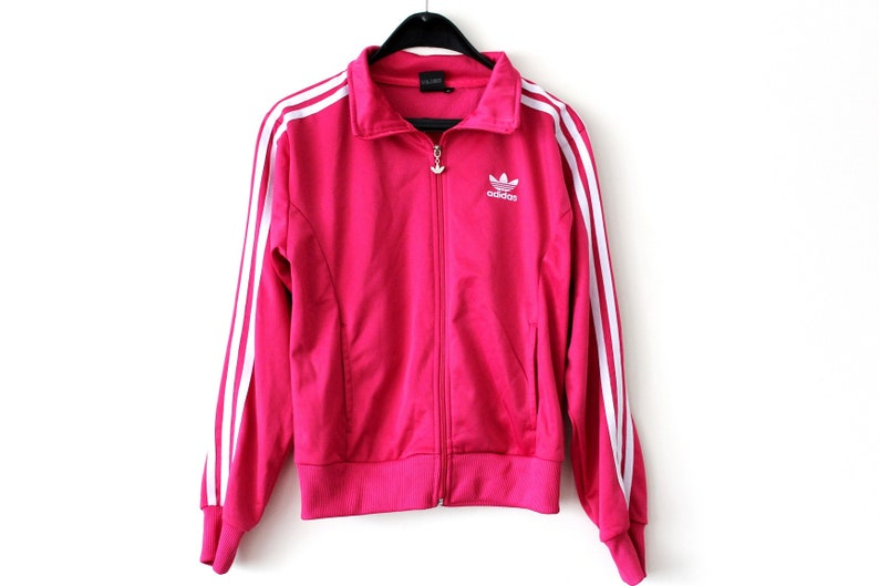 watch official images details for Logo Adidas Vintage Hip Adidas Hop Jacke Klee M seltene ...