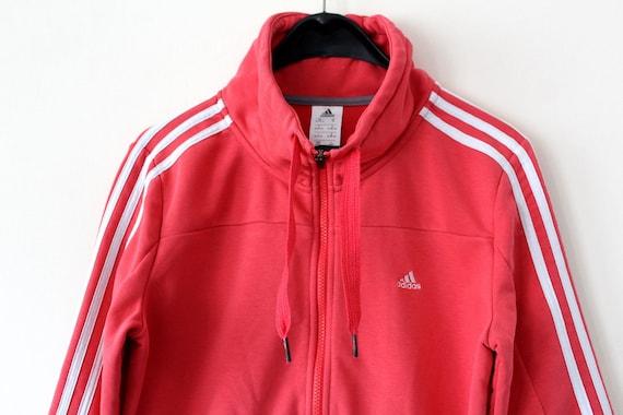 Vintage Adidas Jacke Koralle Adidas Windbreaker seltene Adidas Sweatshirt  Adidas Sport Jacke Retro Hip Hop Adidas Tennis Adidas Trainingsanzug Sz M 1637ac0c41