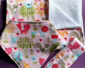 Pink Woodland Baby Bundle