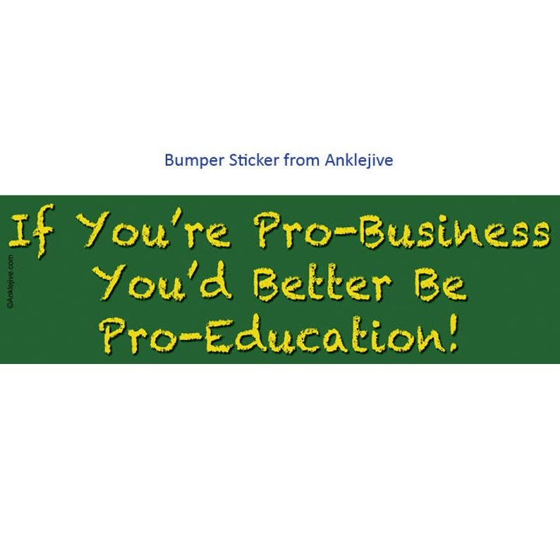 If You're Pro-Business You'd Better Be Pro-Education image 0