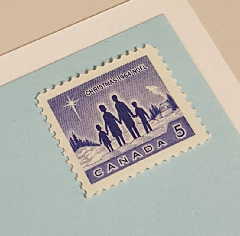 A GROUP OF TWO USED LETTERS WITH STAMPS