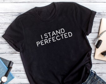 RUGBY INVENTED BY MEN PERFECTED BY WOMEN   LADIES mens T SHIRT dtg