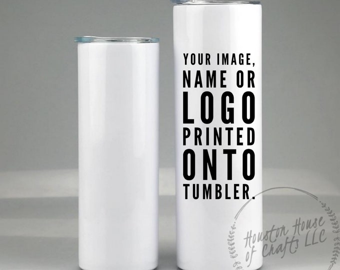 Custom Picture Tumbler, Any Image Tumbler, Printed Image Tumbler, Print Any Image on Cup, Sublimated Cup, Custom Tumbler Tumbler Gift