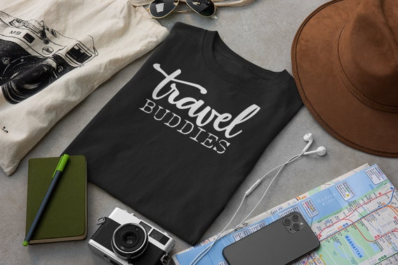 Travel Buddies Shirts, Travel Buddy, Travel Friends, Best Friends Travel, Travel Shirt, Travel Shirts, Vacation Shirts, Vacation Shirt