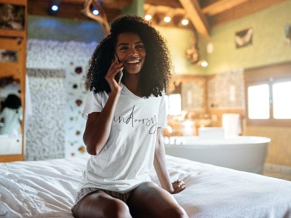 Indoorsy Tee, Indoorsy Shirt, Introvert Tee, Introvert Tee, Ambivert Tee, Ambivert Tee, Social Distancing Tee, Quarantine Shirt, Anti-Social