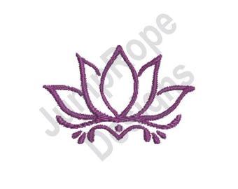 Lotus Flower Design Etsy