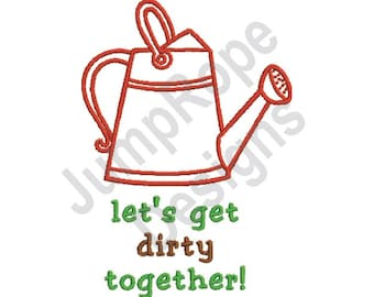 Dirty Together - Machine Embroidery Design