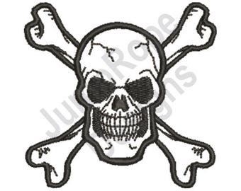 Pirate Crossbones - Machine Embroidery Design