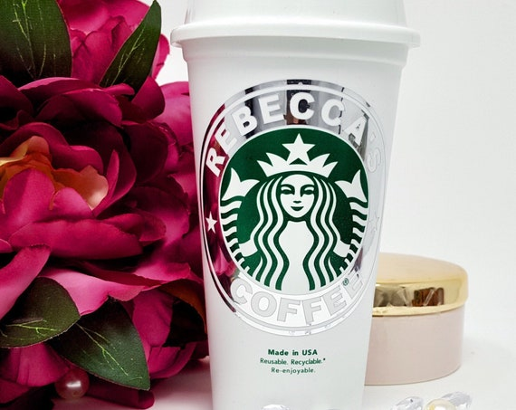 Personalized Starbucks Cups Personalized Tumbler Bridal Party Gift Bridesmaid Gift Starbucks Tumbler Coffee Cup With Lid Coffee Lover Gift