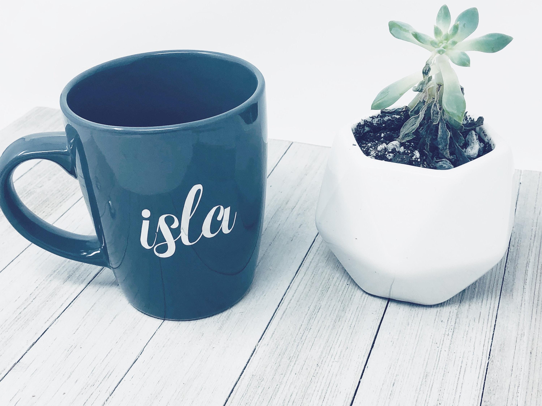 00d75eb5f37 Personalized Coffee Mug Custom Name Mug Coffee Lover Gift Personalized Gift Ceramic  Mug Office Mug Gift For Her Bridal Party Gift
