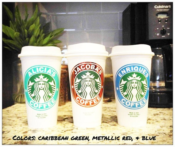 Personalized Starbucks Cups  Personalized Tumbler Bridal Party Gift Bridesmaid Gift Starbucks Tumbler Coffee Cup With Lid Bridesmaid Gift