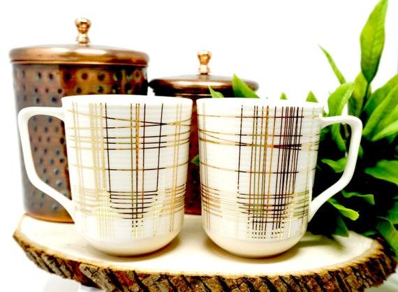 Gold Mugs Modern Coffee Mugs Coffee Lover Mug Gift For Co-worker Office Coffee Mug Housewarming Gift Wedding Gift Coffee Lover Gift