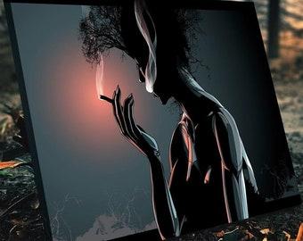 Exhale Gaia Canvas