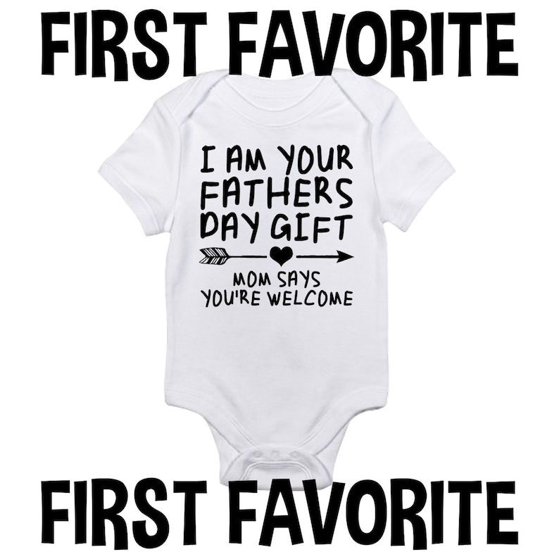 824a491a4 I Am Your Father's Day Gift Baby Onesie Bodysuit Shirt Dad | Etsy