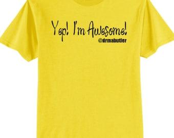 Yep! I'm Awesome!