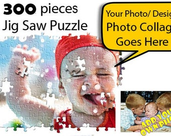300 pieces Personalized Puzzle, Christmas Gift, Birthday Gift, Anniversary Gift, Wedding Gift, Custom Puzzle, Jigsaw Puzzle, Photo Puzzle,