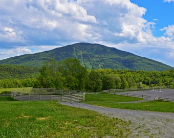 Mount Ascutney Matted Print