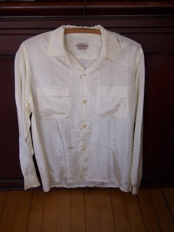 Vintage Pennys Towncraft 2 Pocket Rockabilly Shirt