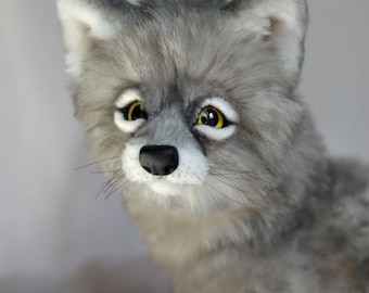 Poseable Wolf Etsy