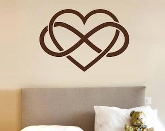 Nice Sticker heart love infinity a.