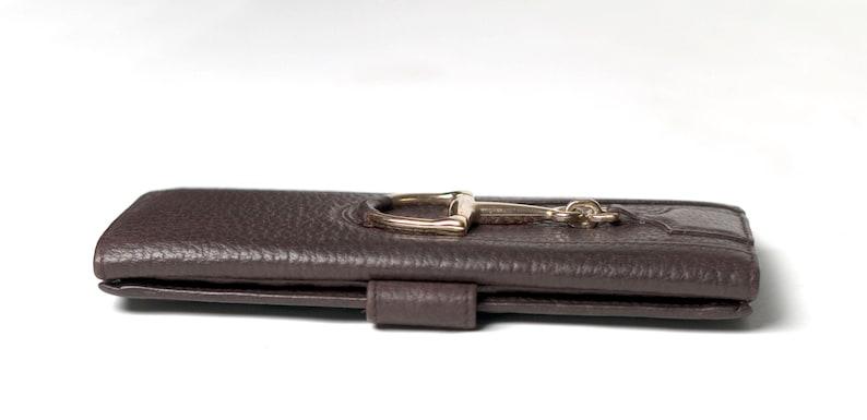 5ba1d38d061e GUCCI Horsebit Continental Wallet Clutch Checkbook Holder | Etsy