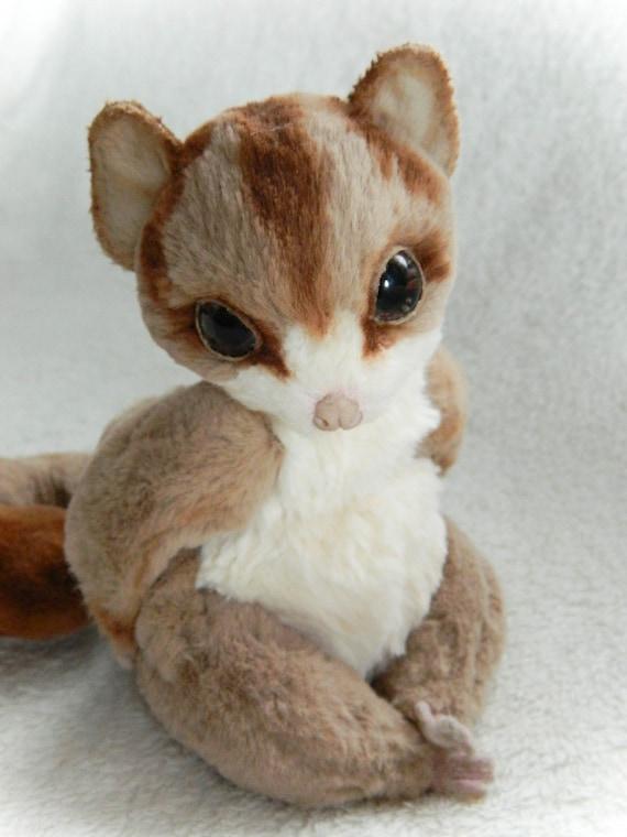 Baby Sugar Glider Plush Female cute /& realistic