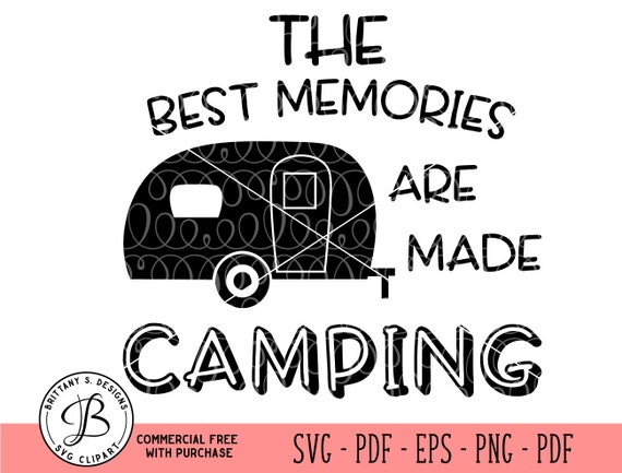 Camper Svg Happy Camper Svg Camping Svg Camping Cut Files Etsy