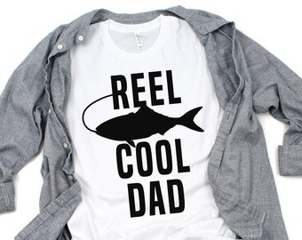 Reel Cool Dad Shirt - Father s Day Fishing Shirt - Fishing Rod - Fishing  Lure - Best Dad Ever - Father s Day Gift - Unisex Graphic Tee dc411ffc5d1