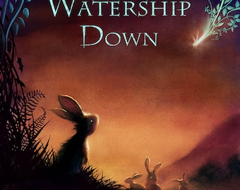 Watership Down Cover - A3 Print