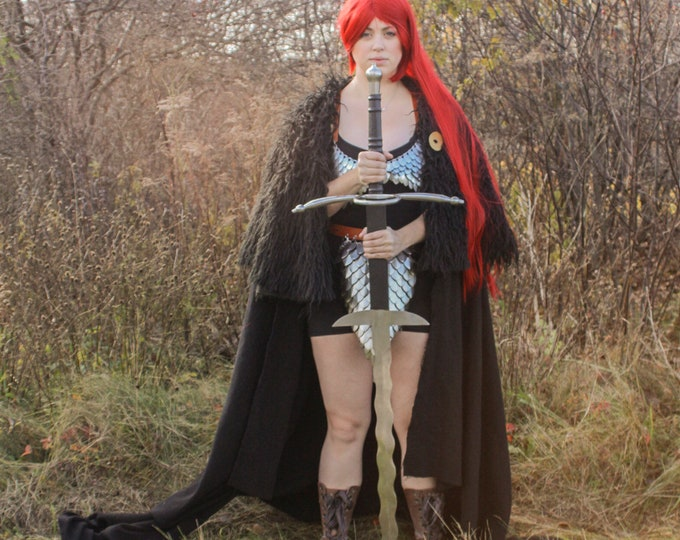 Scalemail Red Sonja Costume - Cosplay